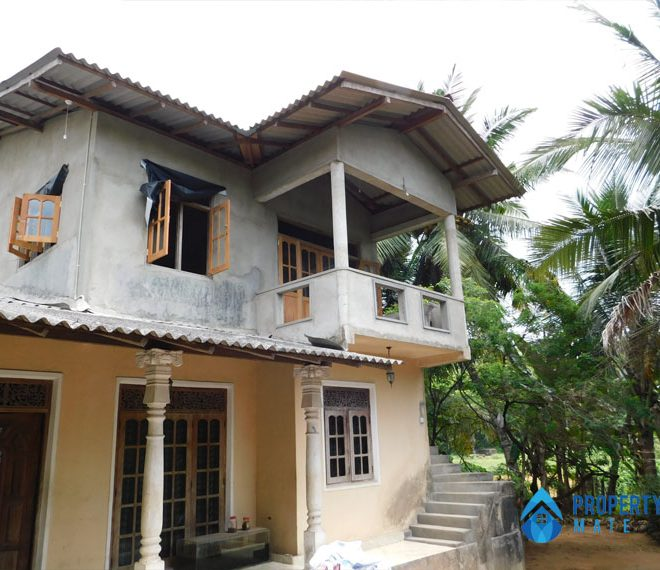 Paddy field facing upstairs for rent in Kottawa