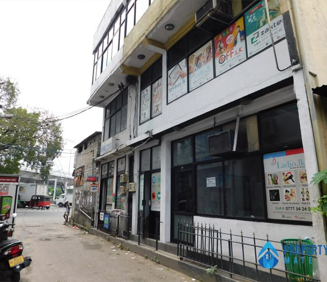 Commercial building for rent in Rajagiriya 4
