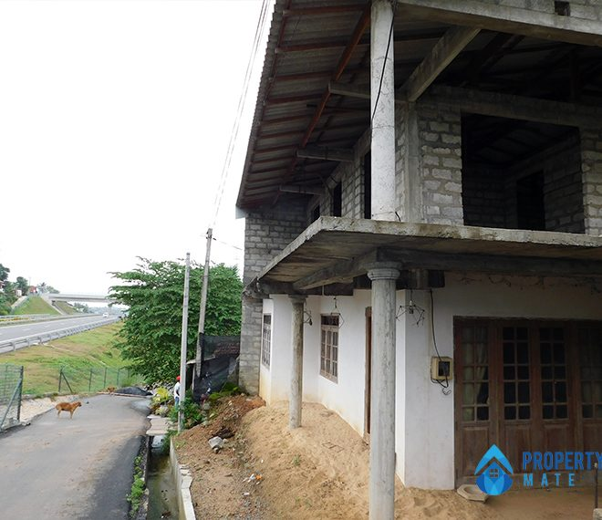 Half build two storey house for sale in Ragama 1