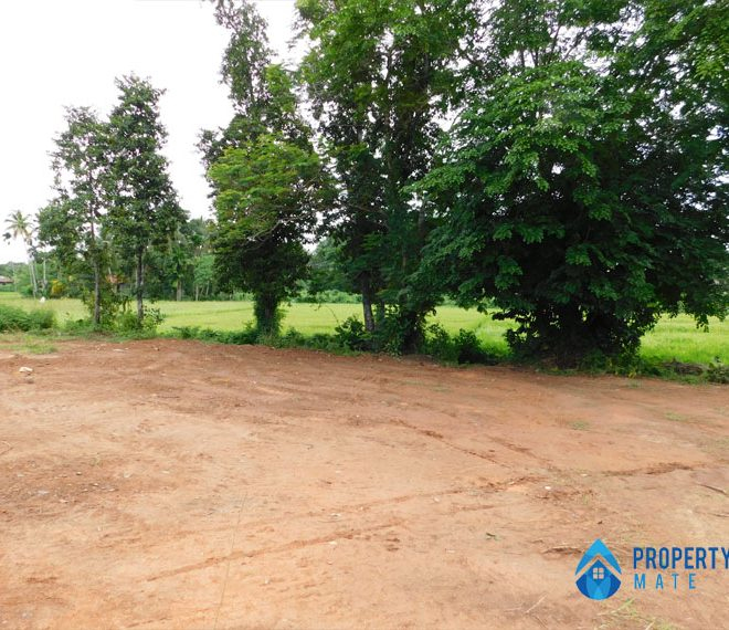 Land for sale in Athurugiriya Galwarusawa road facing paddy field