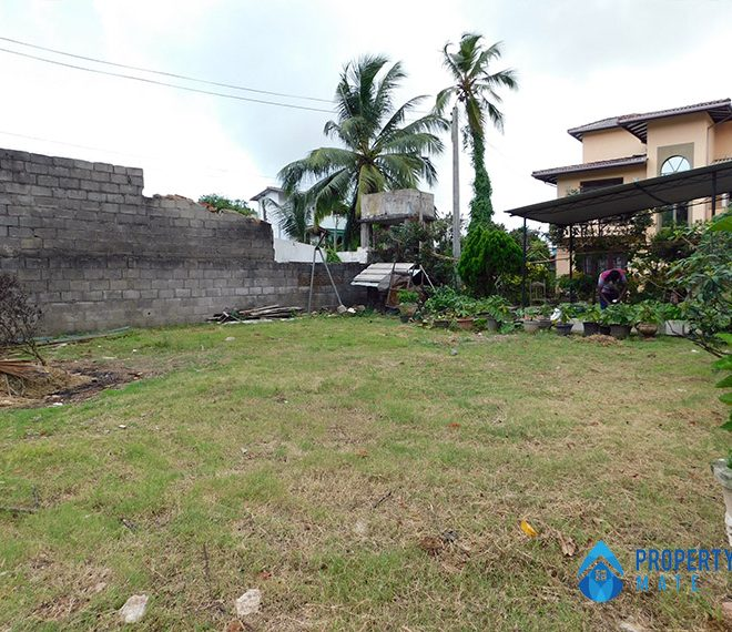 Land for sale in Boralesgamuwa Ahalape road 1