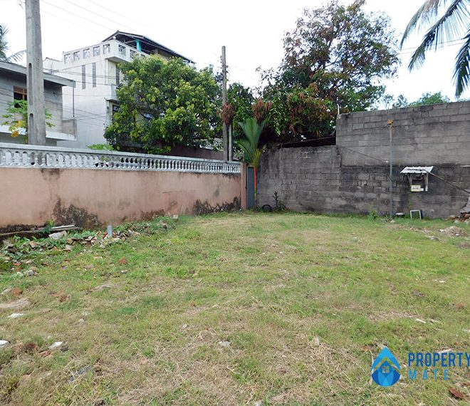 Land for sale in Boralesgamuwa Ahalape road 2