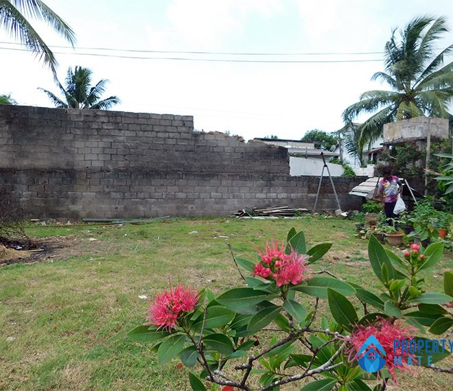Land for sale in Boralesgamuwa Ahalape road 3