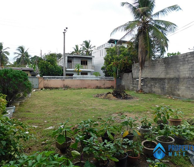 Land for sale in Boralesgamuwa Ahalape road