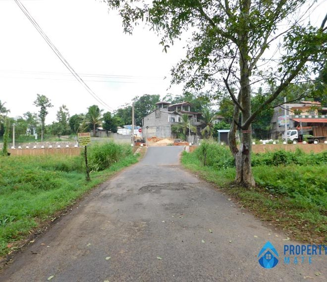 Land for sale in Kahathuduwa Pragathi mawatha 3