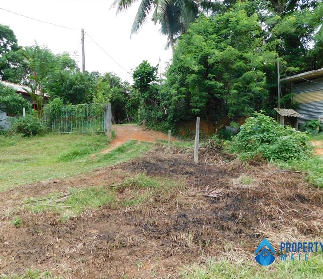 Land for sale in Kahathuduwa Pragathi mawatha