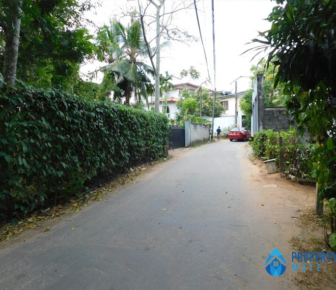 Land for sale in Malabe close CINEC campus 01