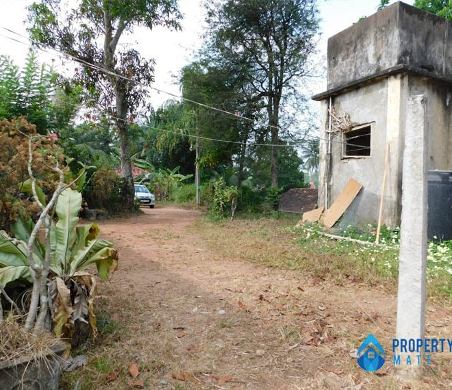 Paddy field facing Land for sale in Hokandara 2
