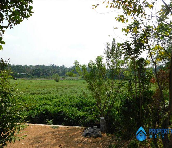 Paddy field facing Land for sale in Hokandara 3